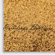 Chunky Gold Glitter Fabric